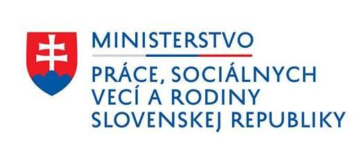 logo Ministerstva práce a sociálnych vecí