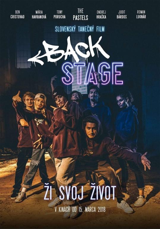 plagát Backstage