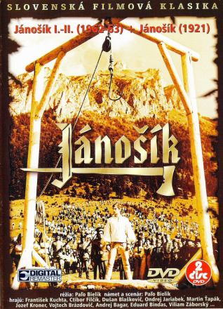 DVD obal Jánošík