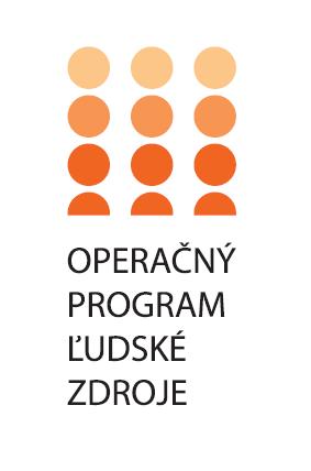 logo Operačný program Ľudské zdroje